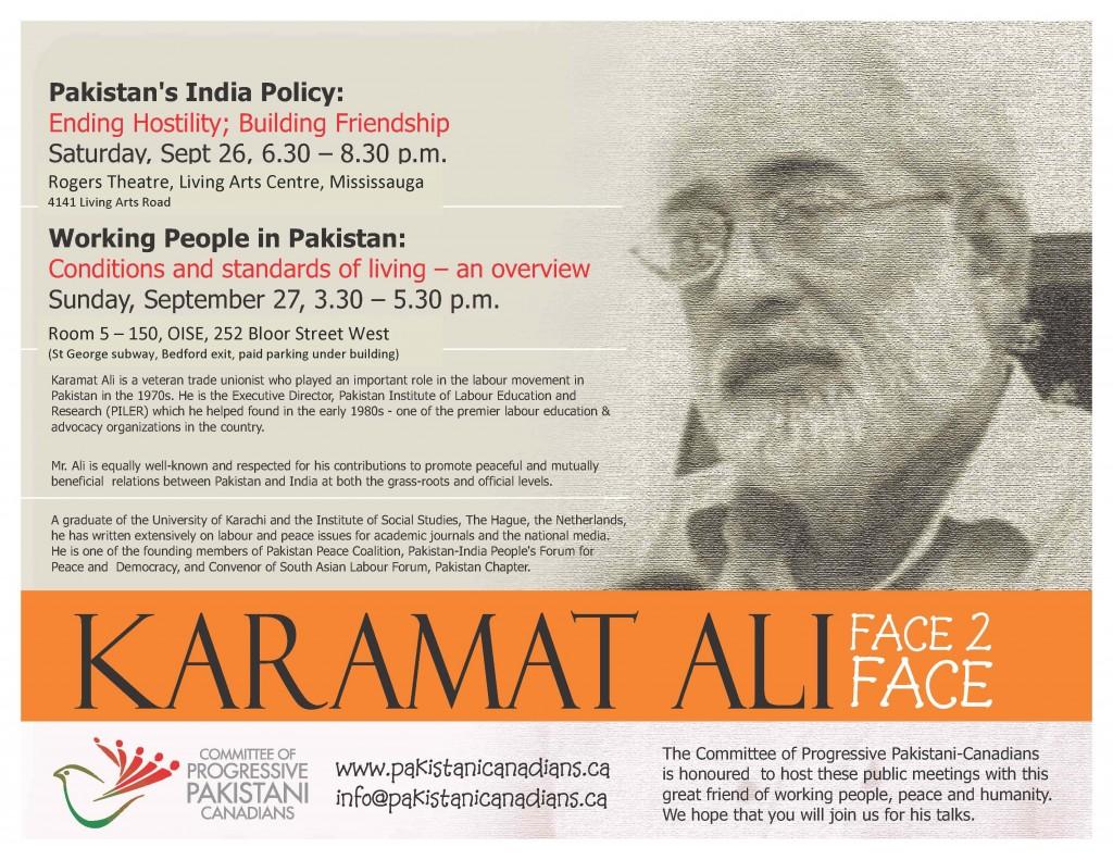 Karamat Ali's Talks
